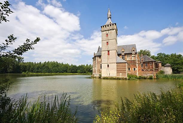 castle Horst in Belgium stock photo