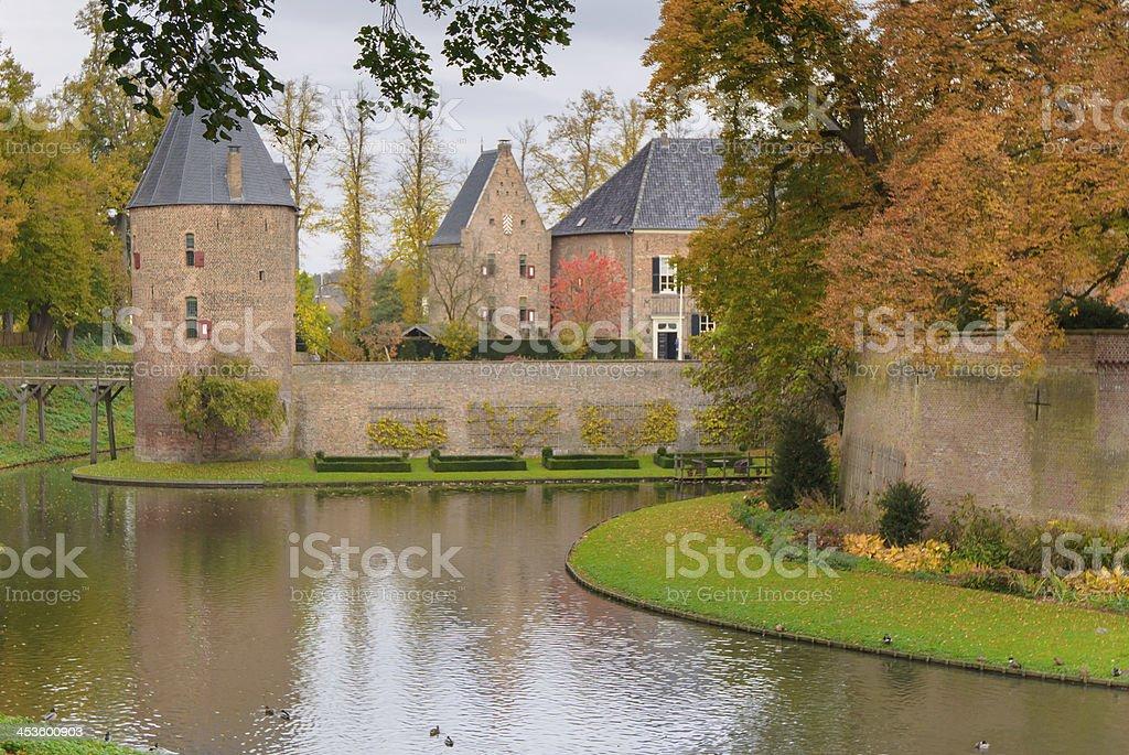 Castle Huis Bergh, 's-Heerenberg, Gelderland, Netherlands stock photo