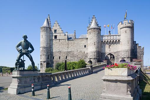 Castle in Antwerp: The Steen