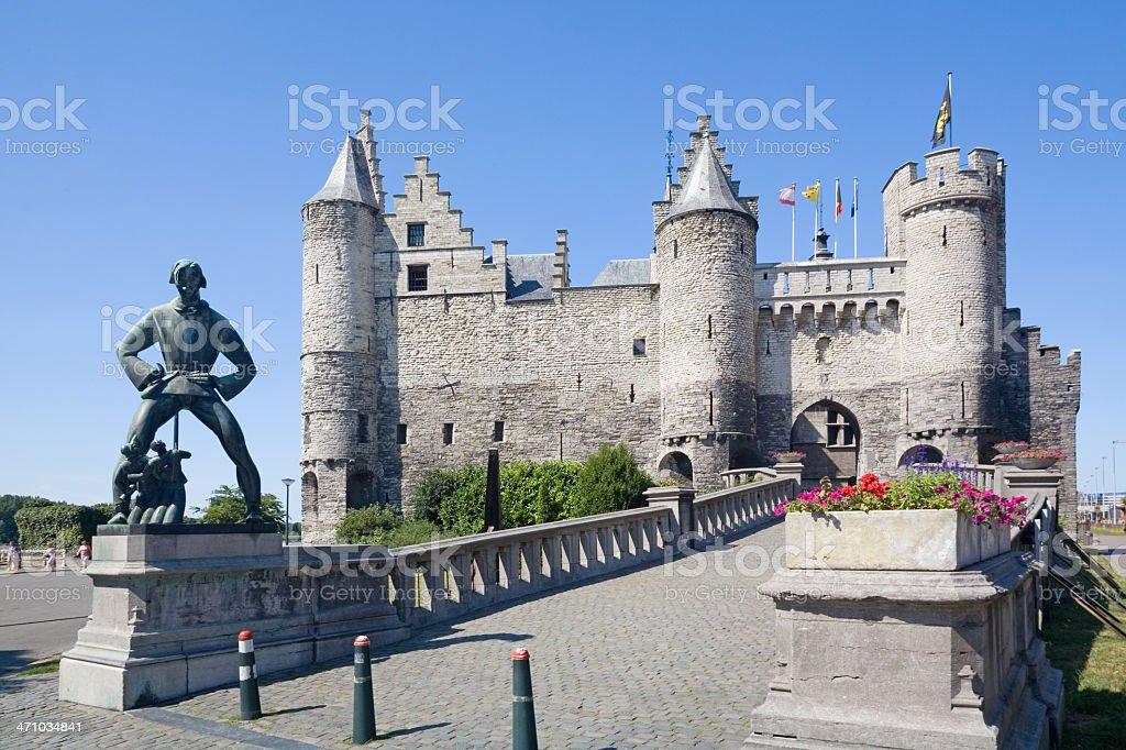 Château depuis Anvers: La polaire full zip Steen - Photo