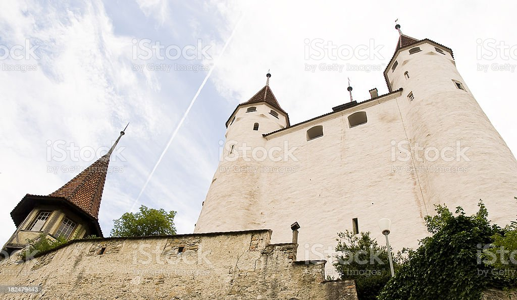 Castle in Europe royalty-free stock photo