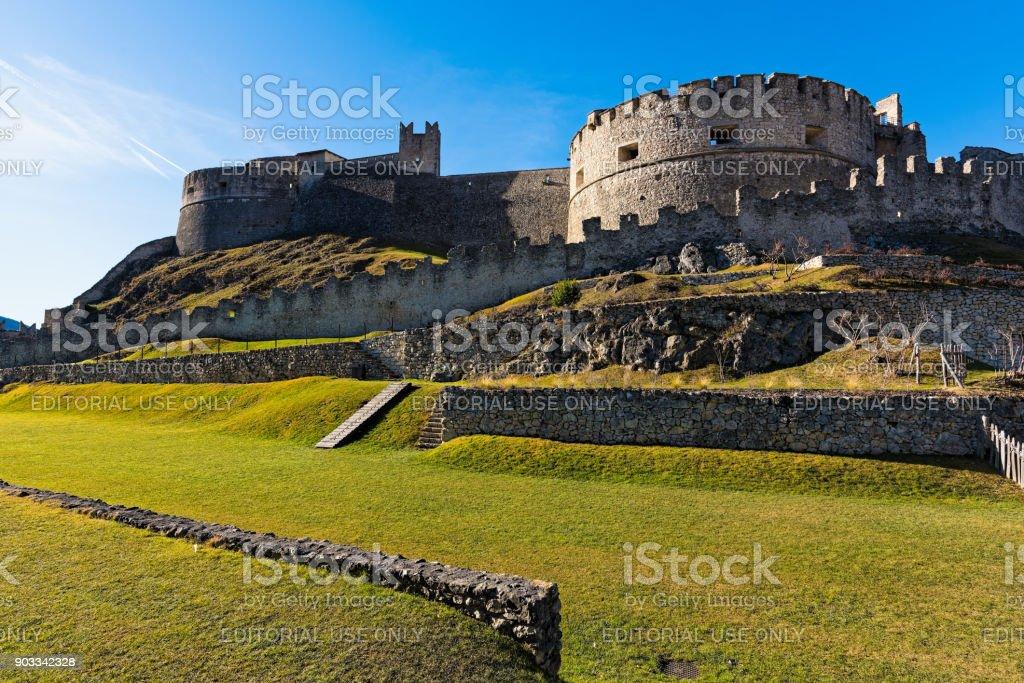 Castle in Italy stock photo