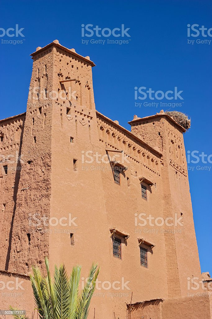 Castle in Morocco royalty-free stock photo
