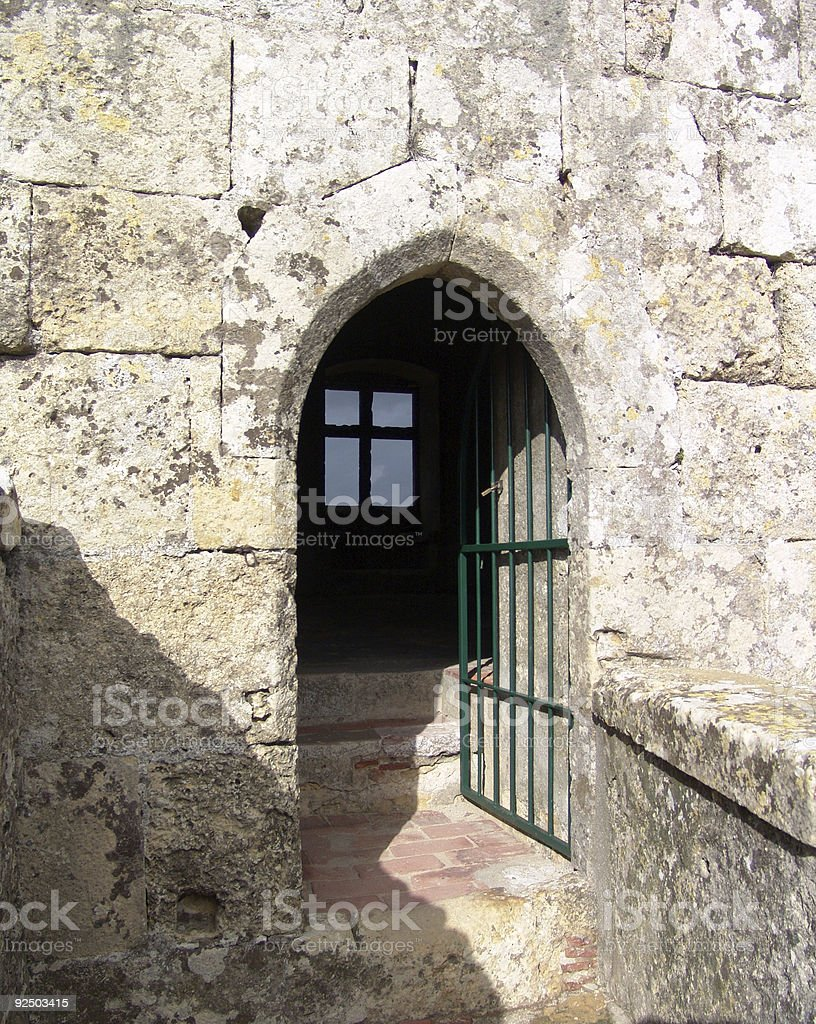 Castle in Pamela, Portugal royalty-free stock photo