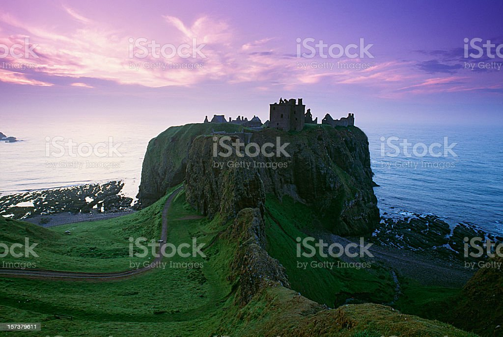 Castle in scotland royalty-free stock photo