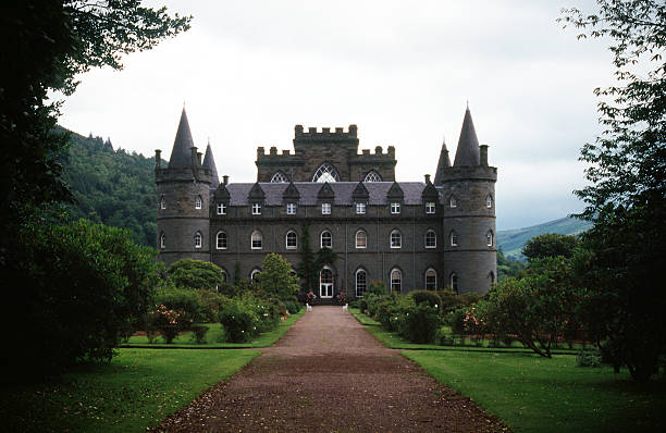 castle in scotland - castle stock pictures, royalty-free photos & images