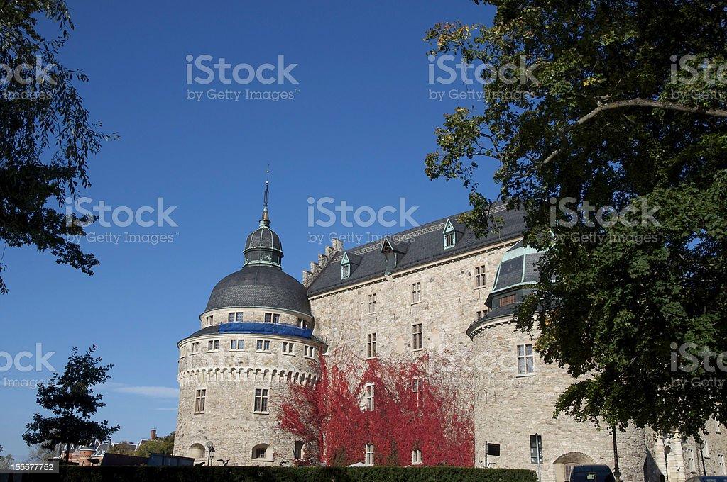 Castle in Sweden stock photo