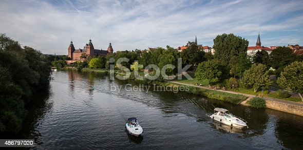 istock castle johannisburg and the main river at aschaffenburg germany 486797020