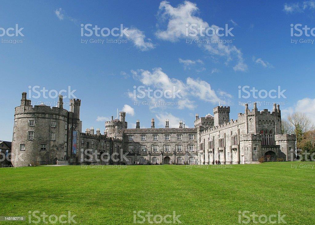 Castle Kilkenny, Ireland stock photo
