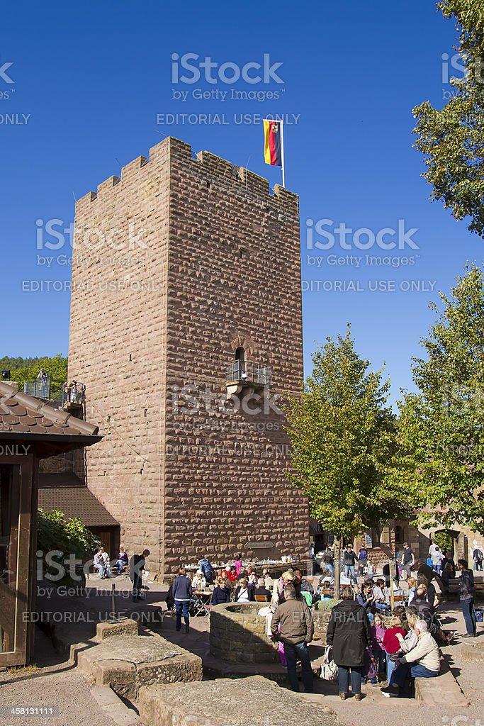 Castle Landeck stock photo