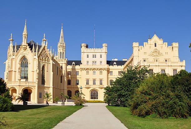castle Lednice in Czech rep stock photo