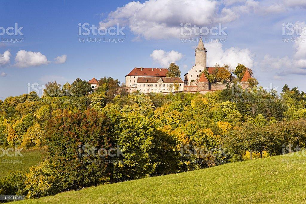 Castle Leuchtenburg stock photo