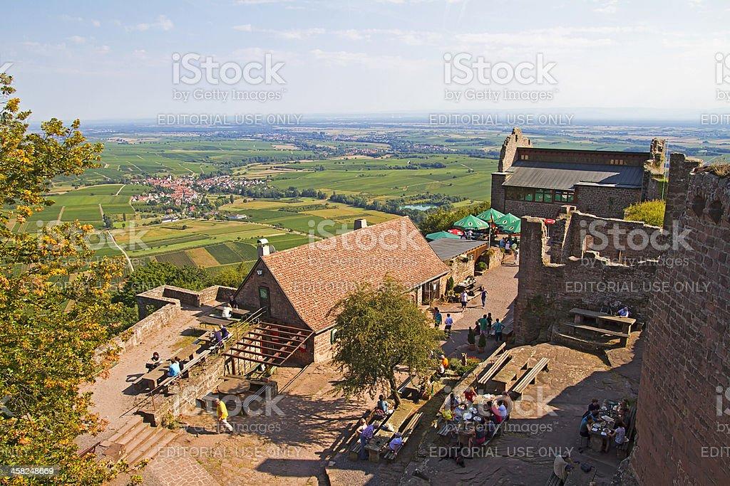 Castle Madenburg stock photo
