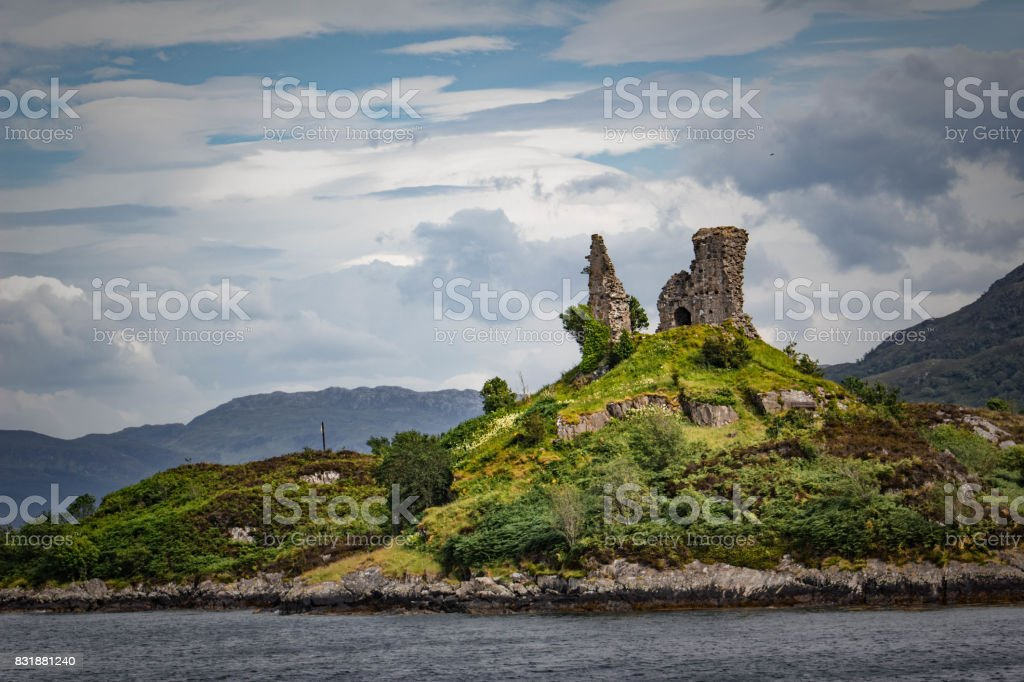 Castle Moil stock photo