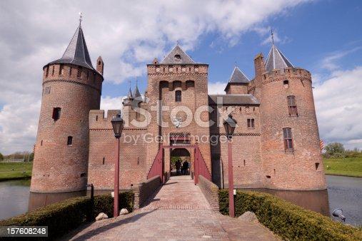 istock Castle Muiderslot 157608248