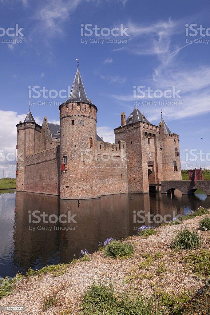 Castle Muiderslot stock photo