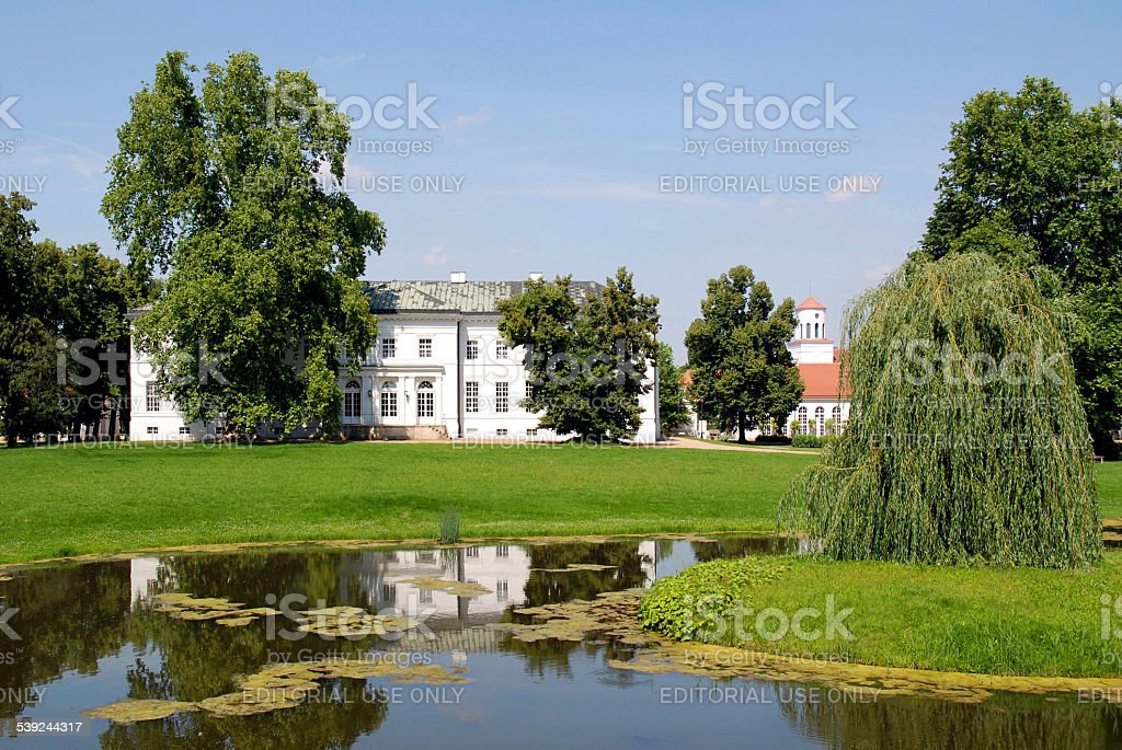 Castle Neuhardenberg in Germany royalty-free stock photo