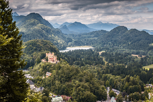 Castle Neuschwanstein in Bavaria Germany