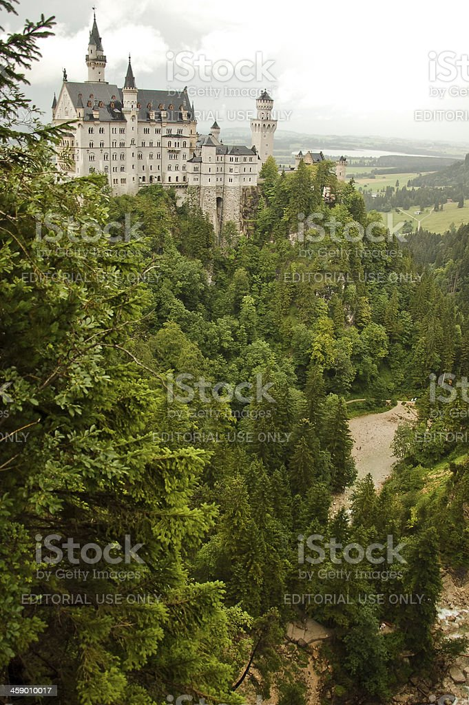 Castle Neuschwanstein royalty-free stock photo