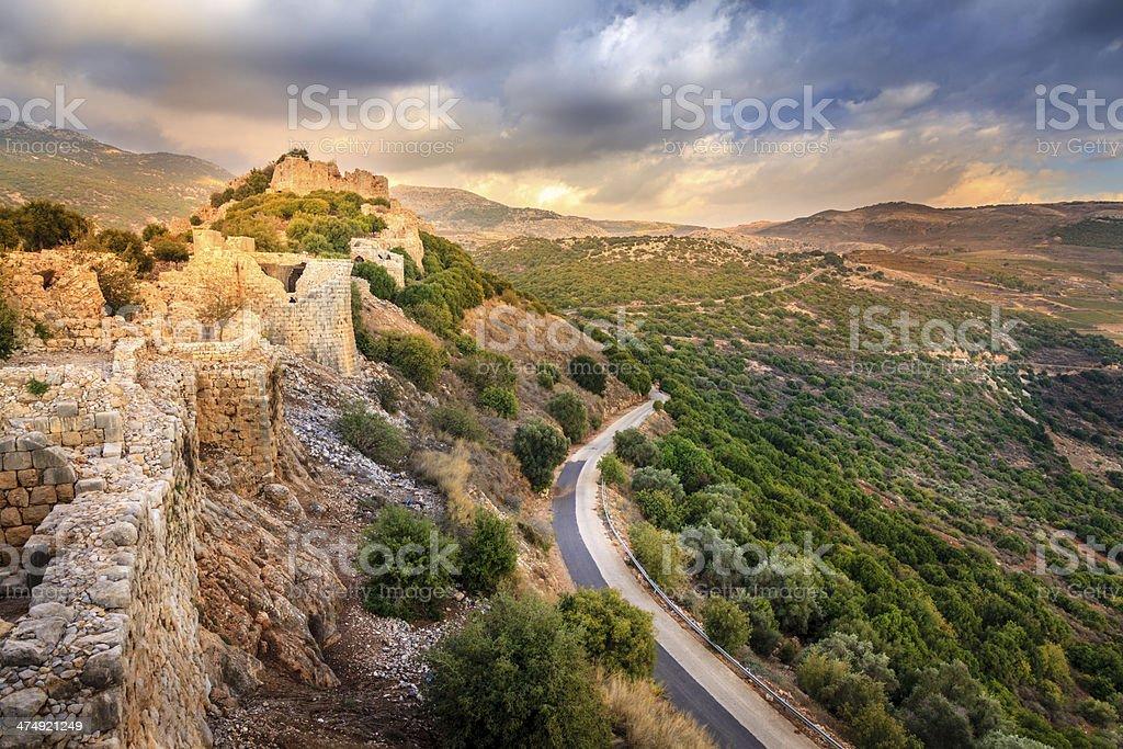 Castle Nimrod stock photo