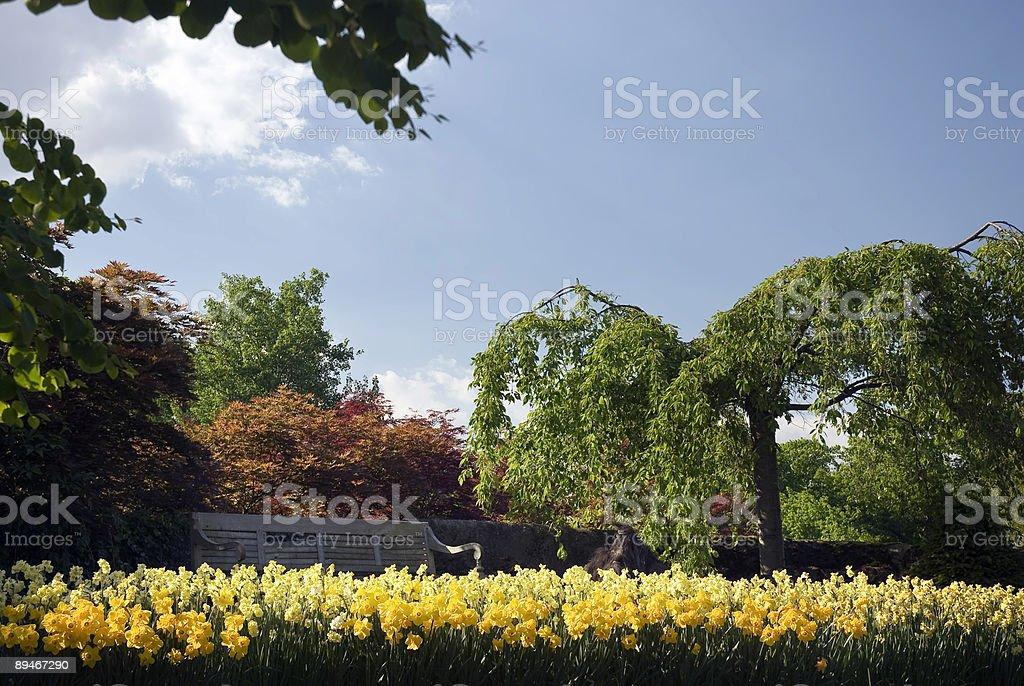 Castle of Arcen - Model Gardens royalty-free stock photo