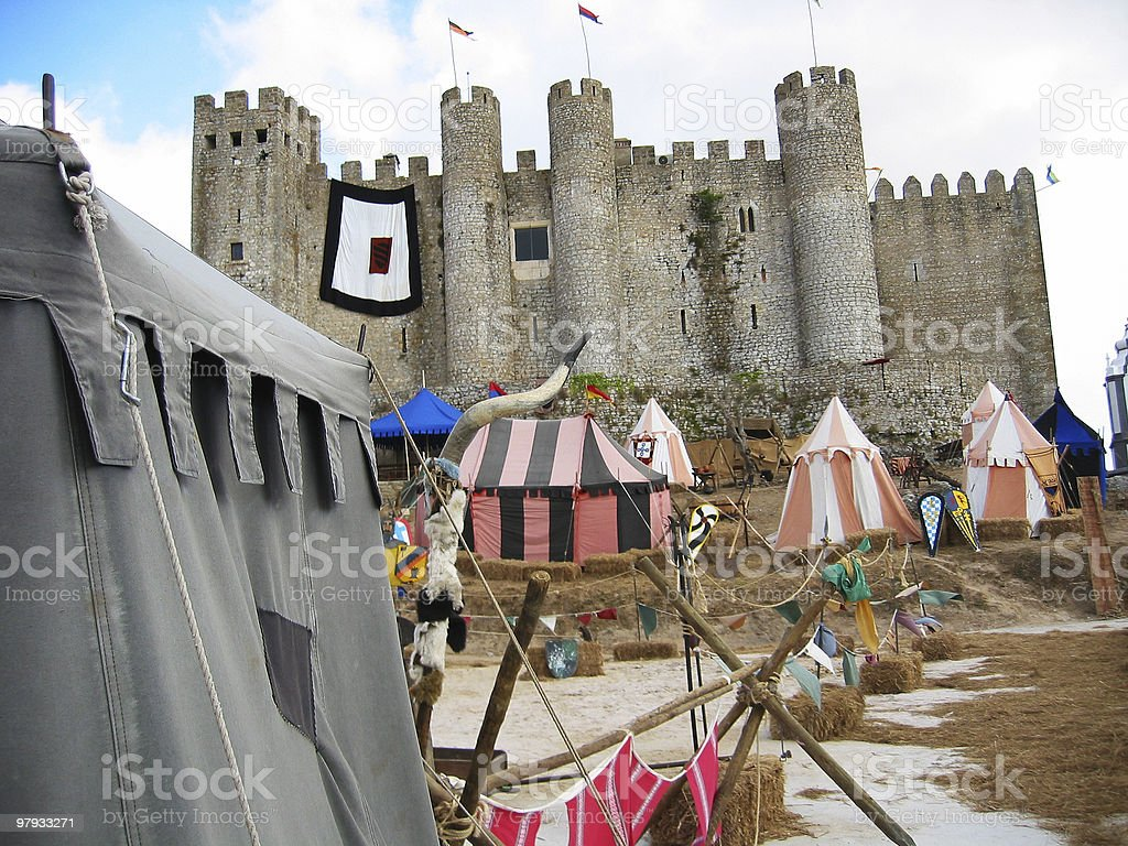 Castle Of Óbidos stock photo