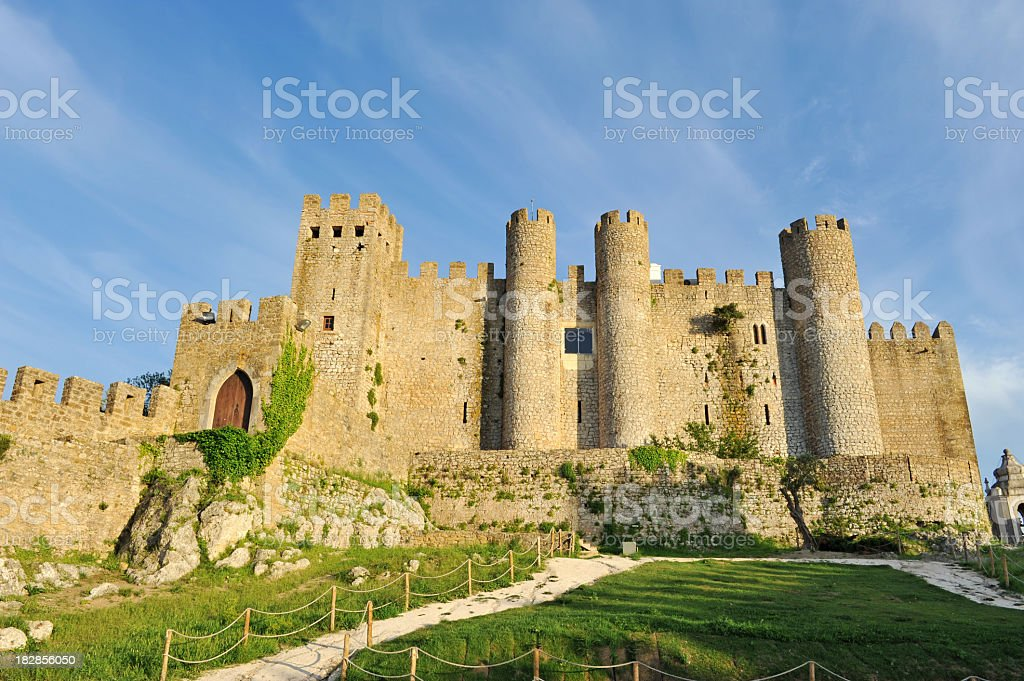Castle of Óbidos,Portugal stock photo