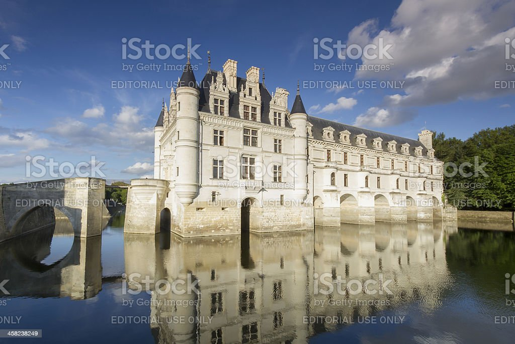 Chateau de Chenonceau royalty-free stock photo