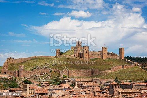 Castle of Molina de Aragon, Guadalajara, Spain.
