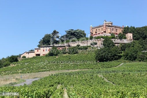 948424058istockphoto Castle of Montmelas in Beaujolais, France 616871964