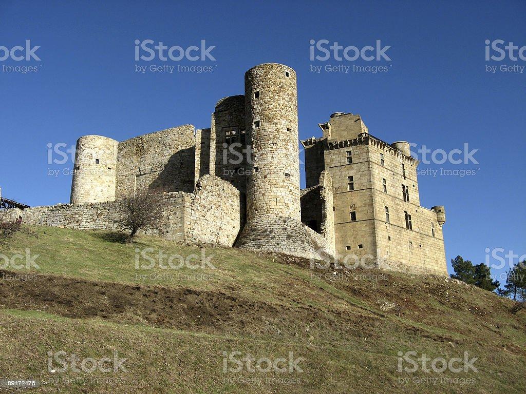 Castillo de Portes foto de stock libre de derechos