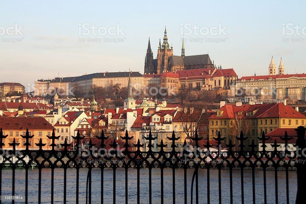 Castle of Prague royalty-free stock photo