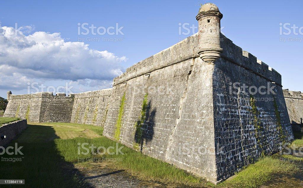 Castillo de San Marcos royalty-free stock photo