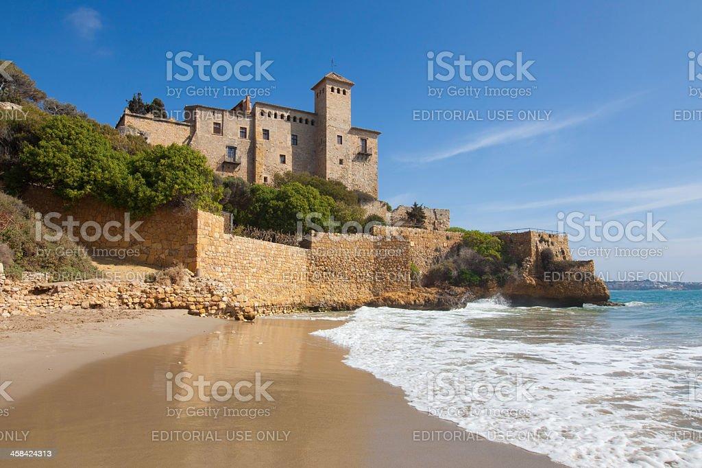 Castle of Tamarit royalty-free stock photo