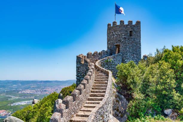 ムーア - ポルトガルの城 - ムーア様式 ストックフォトと画像