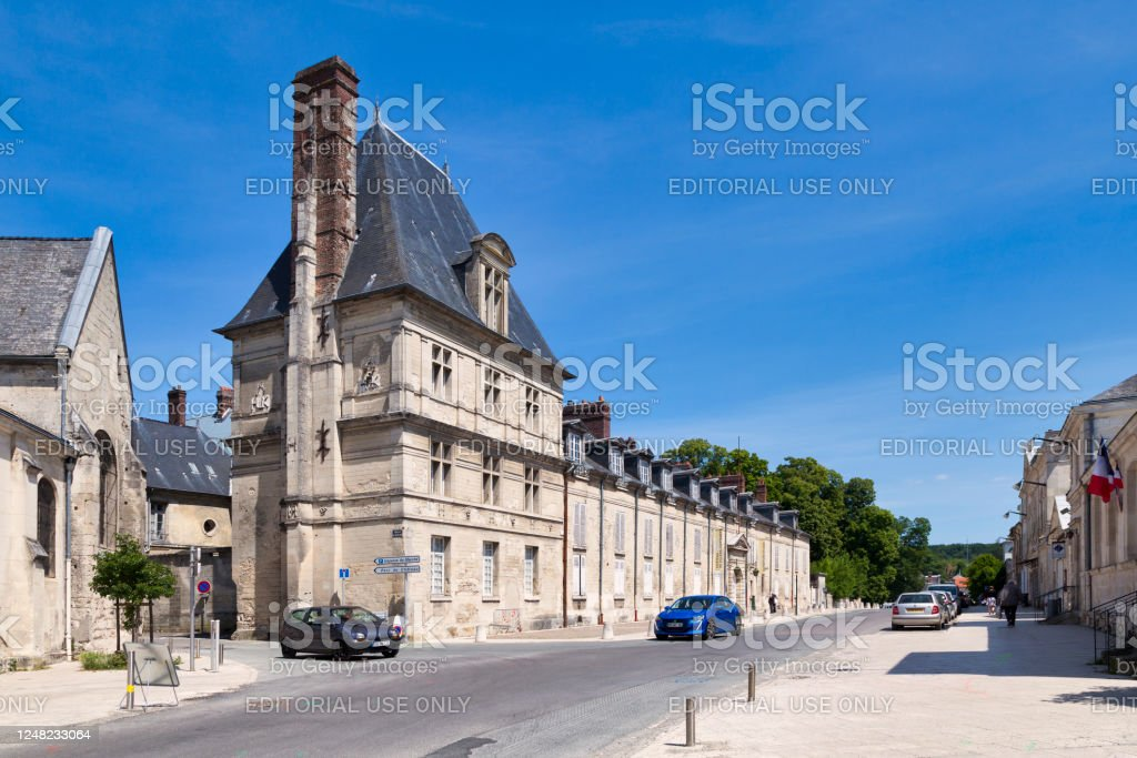 Castle of Villers-Cotterêts - Royalty-free Aisne Stock Photo