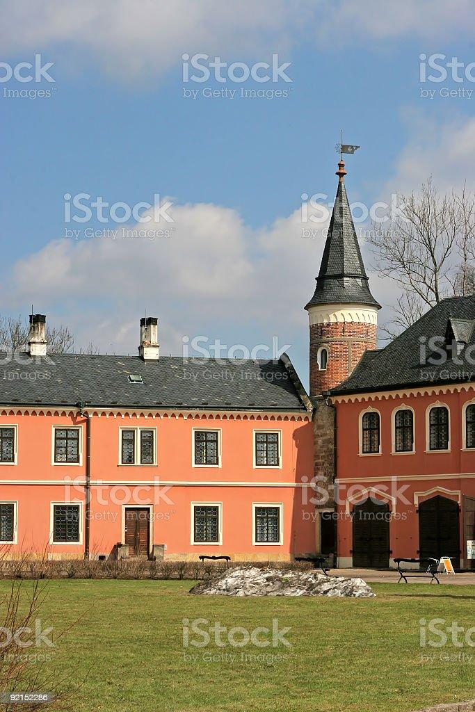 castle park royalty-free stock photo