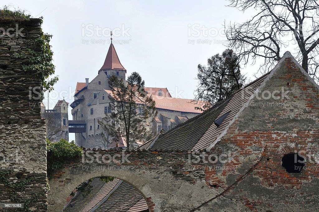 castle Pernstejn,Czech republic royalty-free stock photo