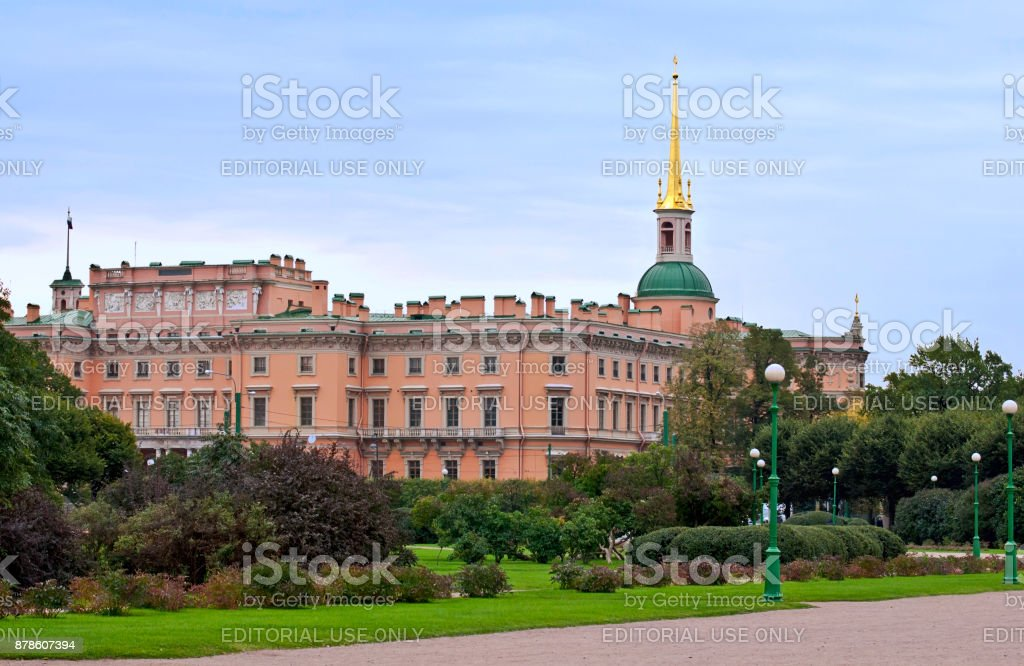 Castle. stock photo