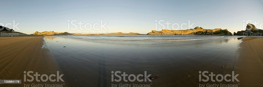 Castle point panorama royalty-free stock photo