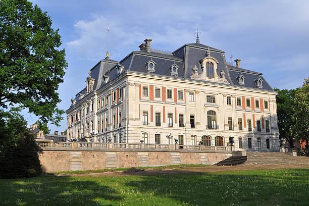 castle Pszczyna,Poland stock photo