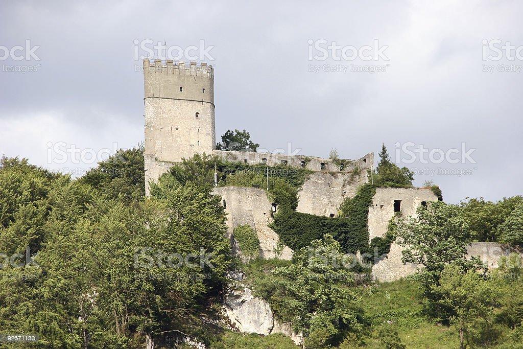 Castle Randeck in Bavaria stock photo