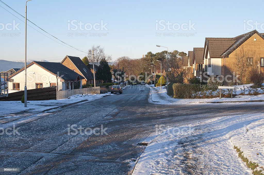 Castle Road royalty-free stock photo