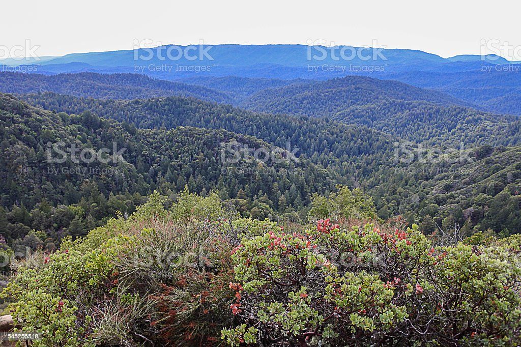 Castle Rock California USA Hiking View stock photo