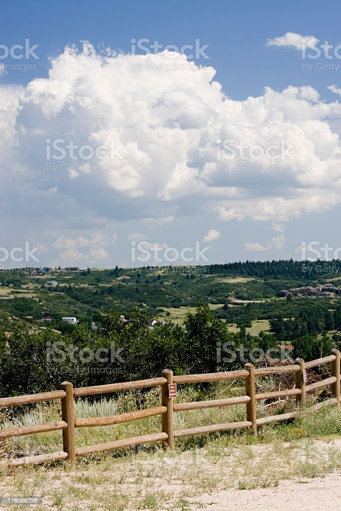 Castle Rock stock photo