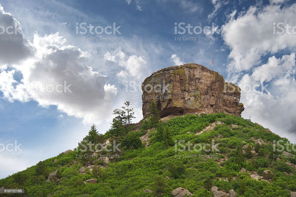 Castle Rock stock photo