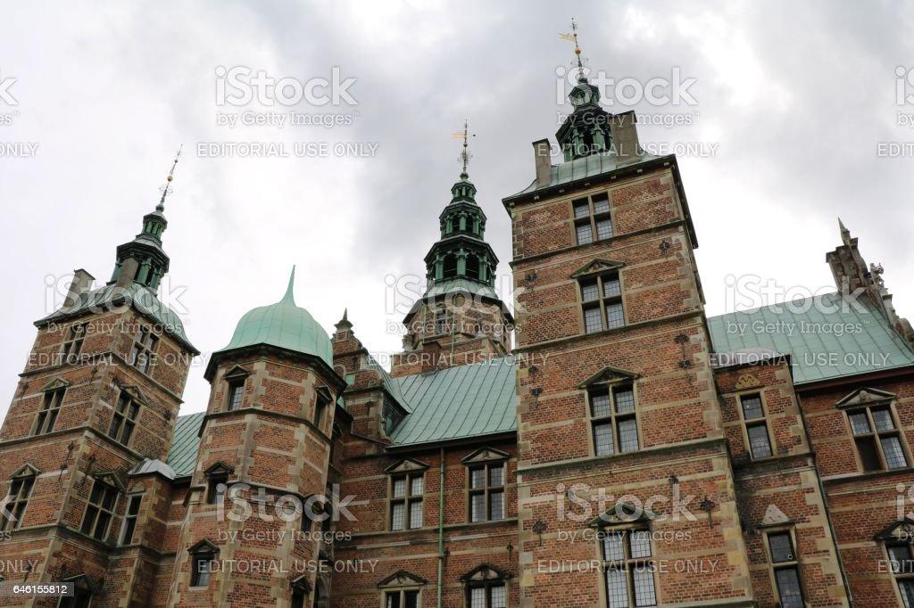Castle Rosenborg in Copenhagen, Denmark Scandinavia stock photo