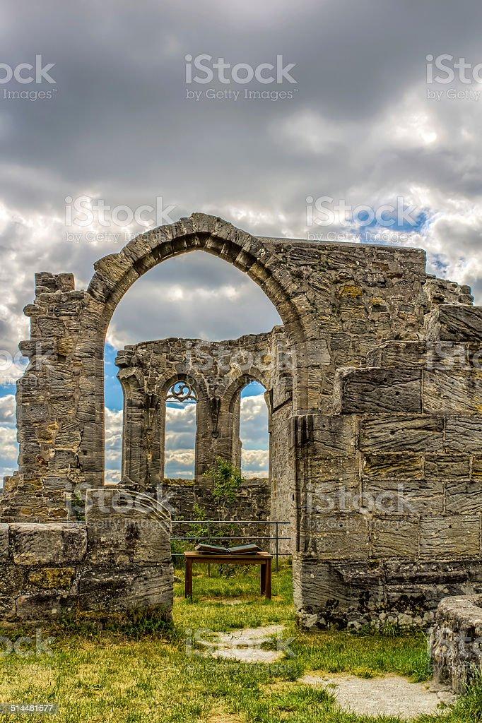 Castle Ruin Altenstein Lizenzfreies stock-foto