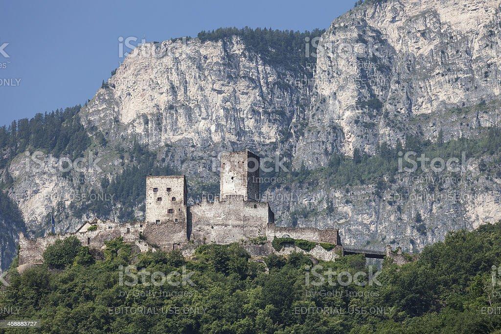 Castle ruin Hocheppan royalty-free stock photo
