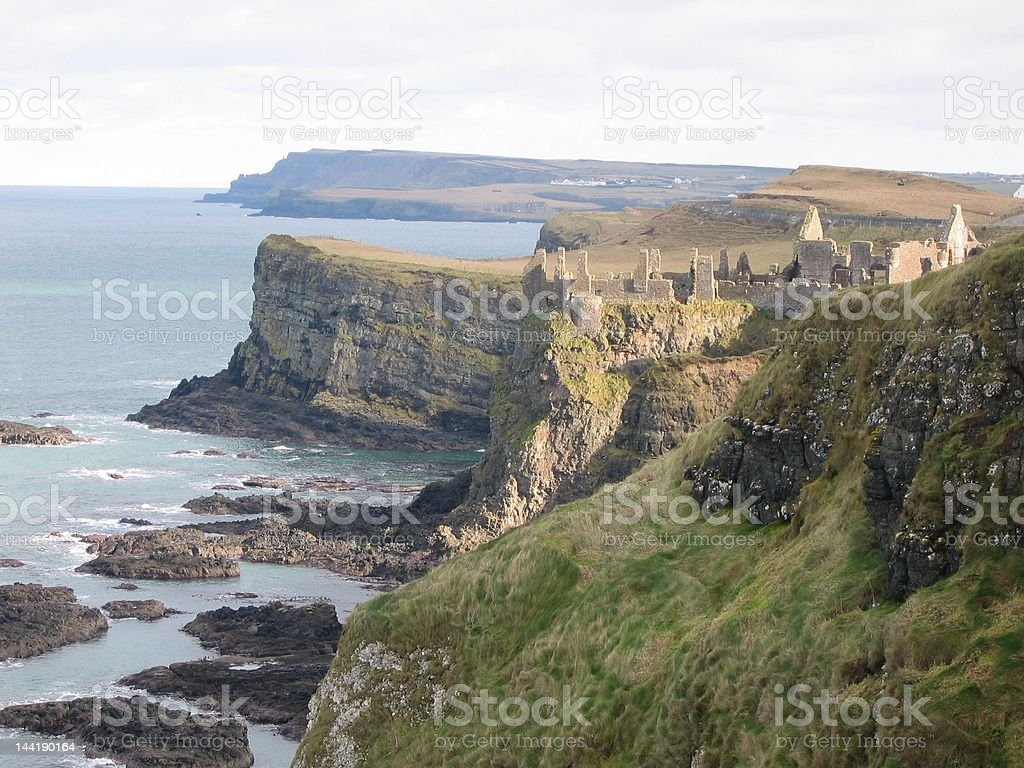 Castle ruin @ Ireland royalty-free stock photo